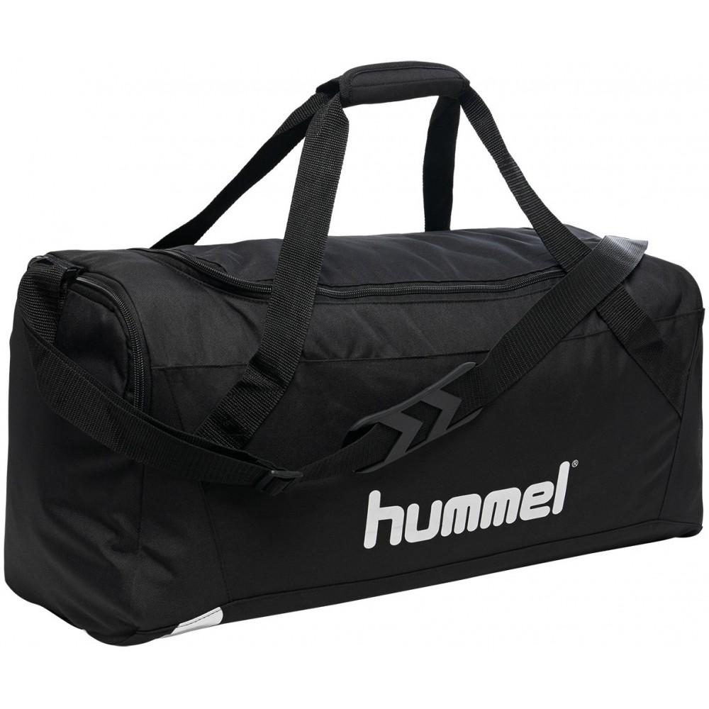 HUMMEL Torba Sportowa na ramię Podróżna Treningowa 49L Czarna