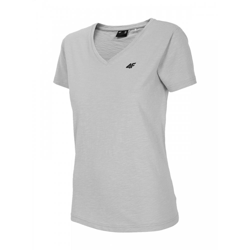 Koszulka Damska 4F Bawełniana T-Shirt Szara