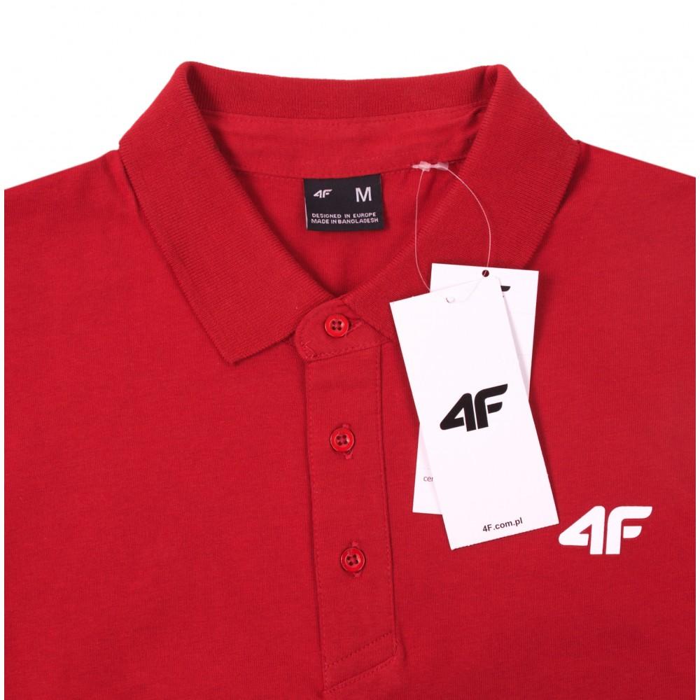 Koszulka Polo 4F Męska Polówka Bawełniana
