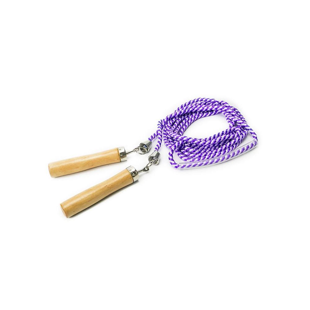 Skakanka Allto nylonowa z łożyskiem fioletowa