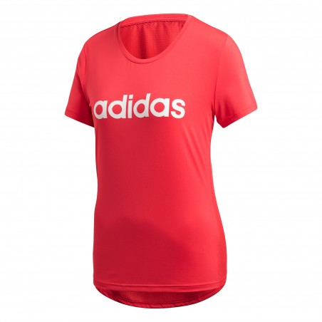 Koszulka Damska Adidas Oddychająca Treningowa Różowa