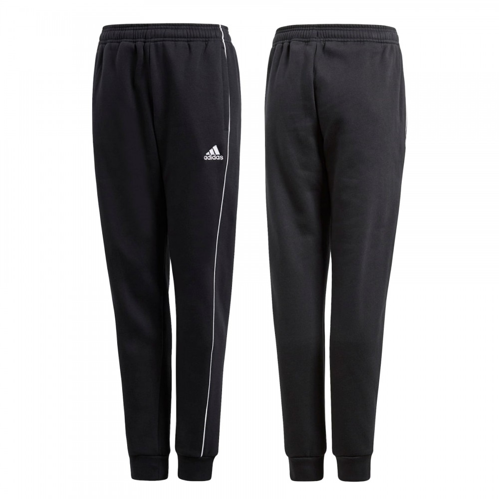 Adidas Core 18 Spodnie Dziecięce Ocieplane Czarne