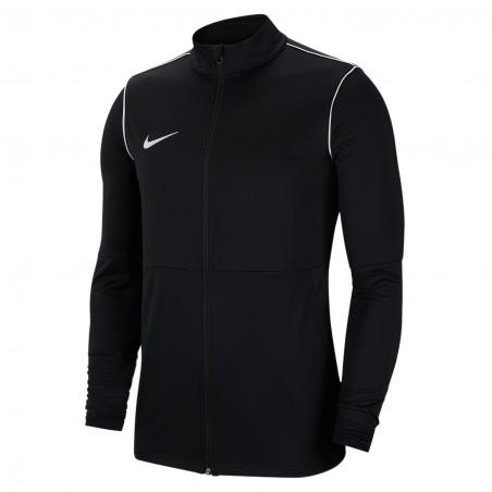 NIKE Bluza Męska Treningowa Poliestrowa Czarna Nike Dry Park