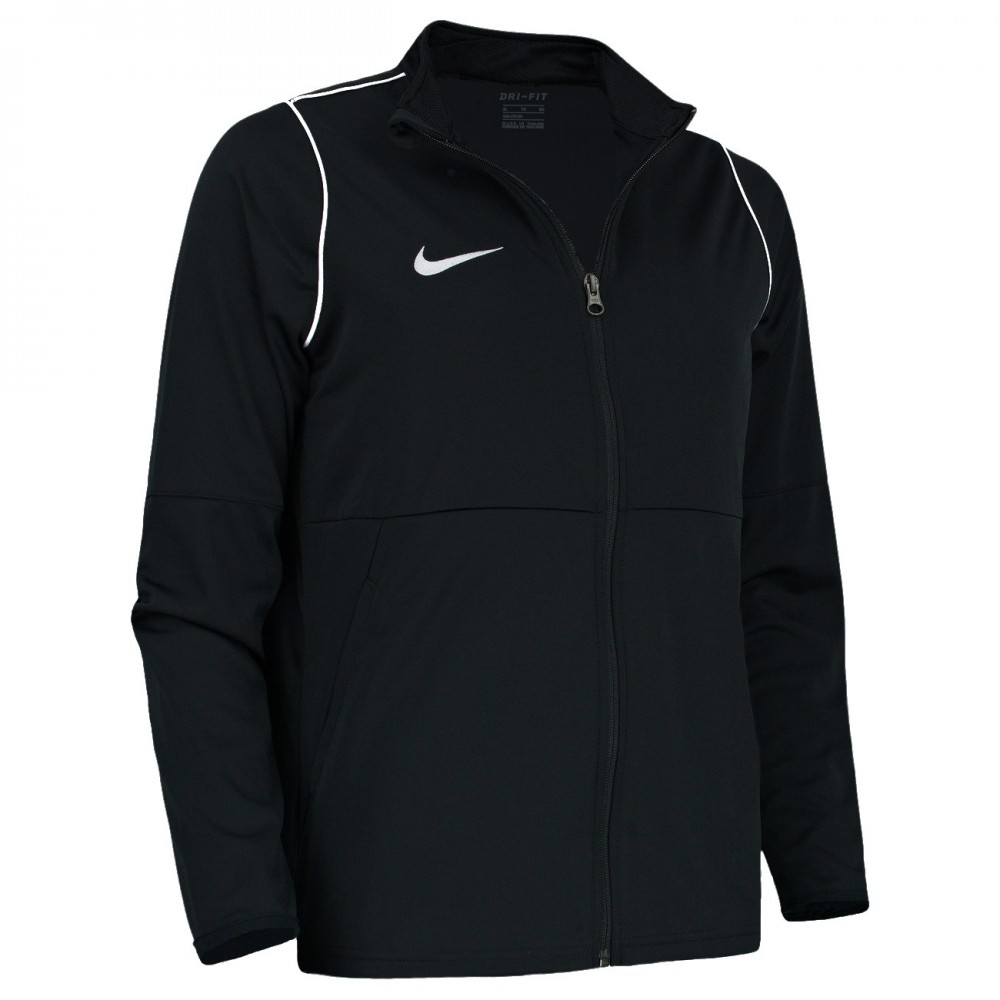 NIKE Bluza Junior Treningowa Poliestrowa Czarna Nike Dry Park