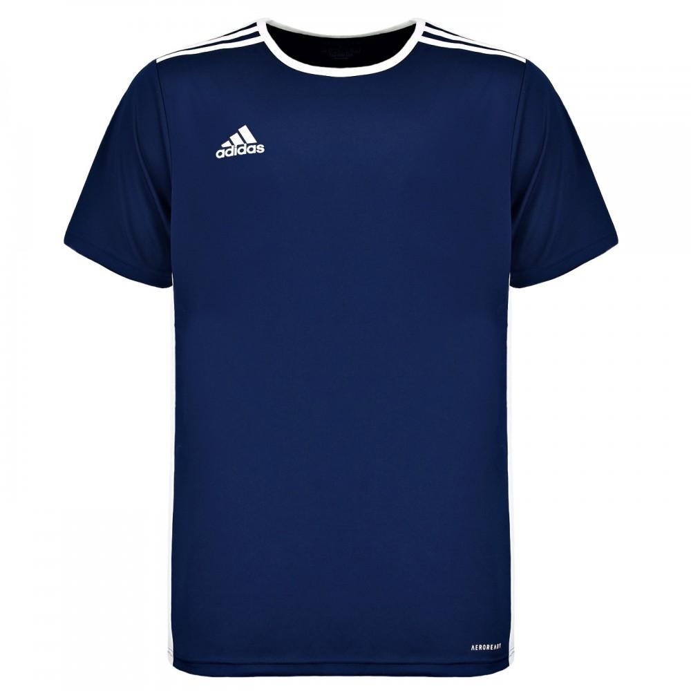 ADIDAS Koszulka Sportowa Dziecięca Treningowa Trzy Paski
