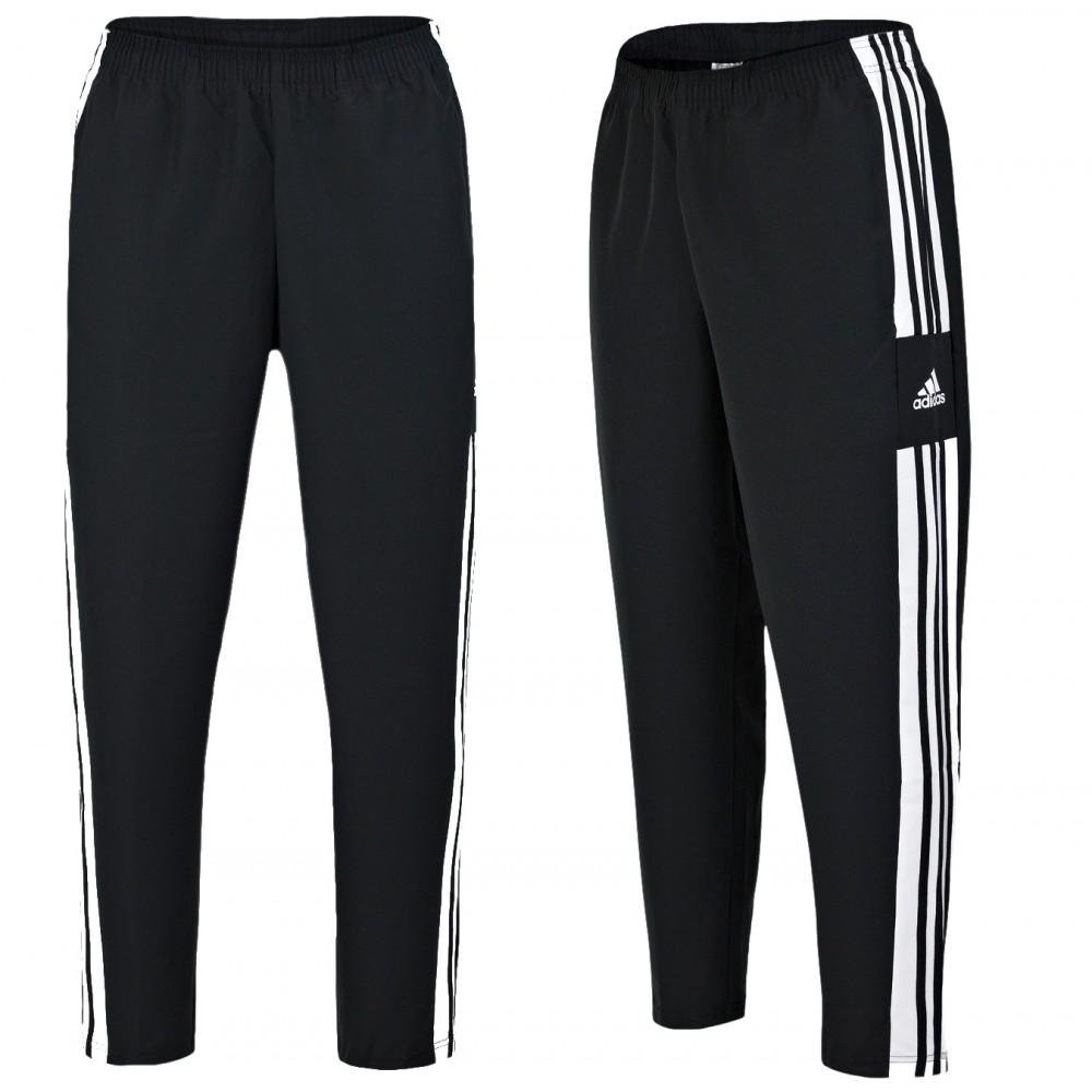 ADIDAS Squadra 21 Spodnie Chłopięce Junior Dresowe Sportowe  Czarne 3 Paski