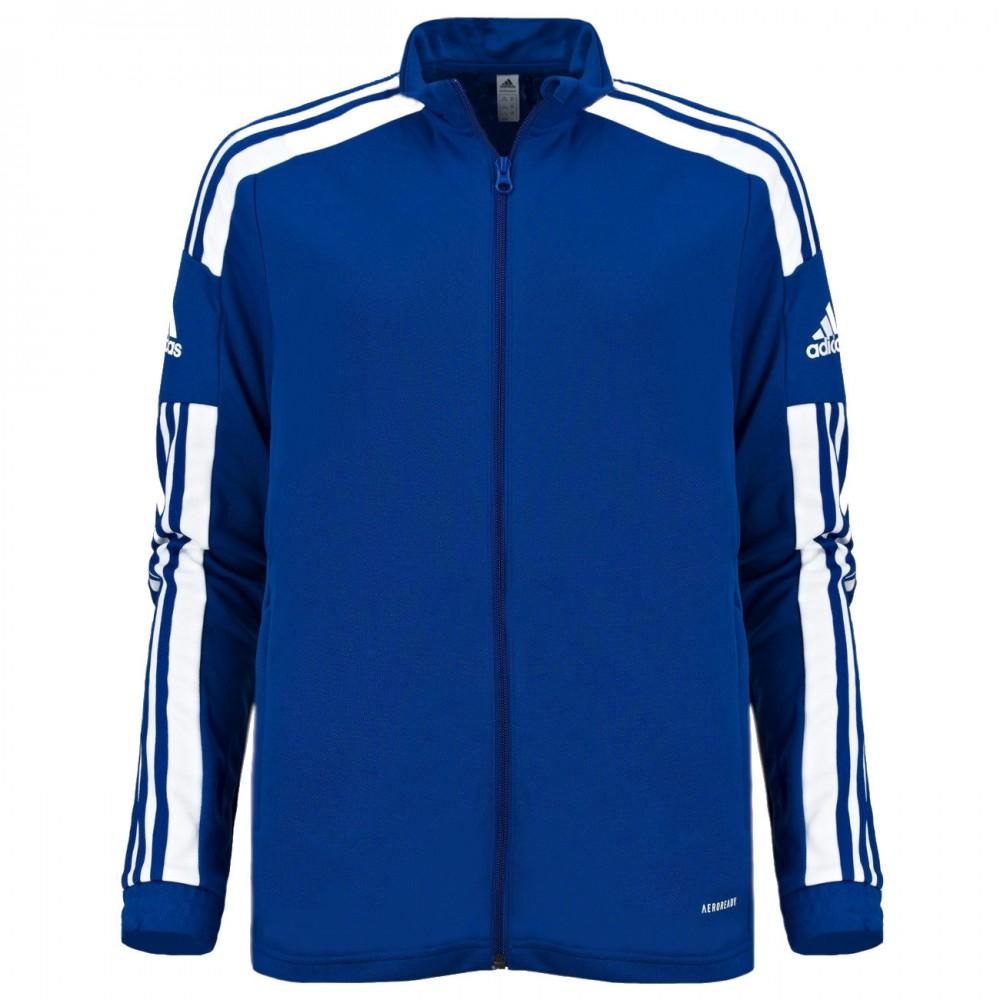 Adidas Męska Bluza Treningowa Squadra 21 Training Niebieska