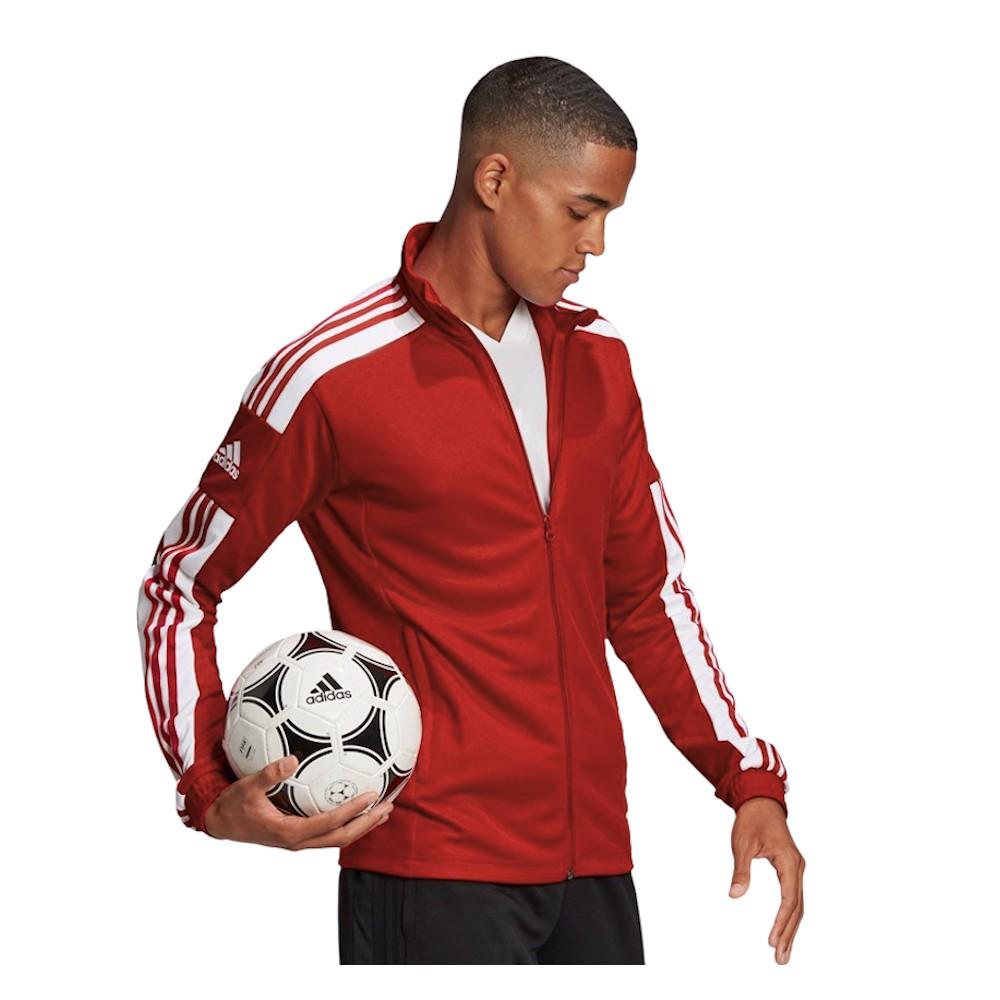 Adidas Męska Bluza Treningowa Squadra 21 Training Czerwona