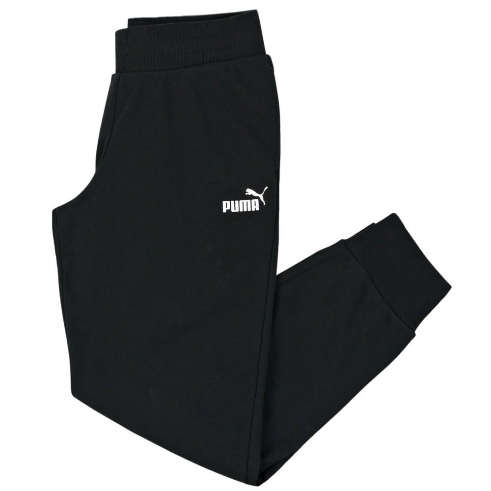 PUMA Spodnie Dresowe Damskie Dresy Bawełniane Czarne