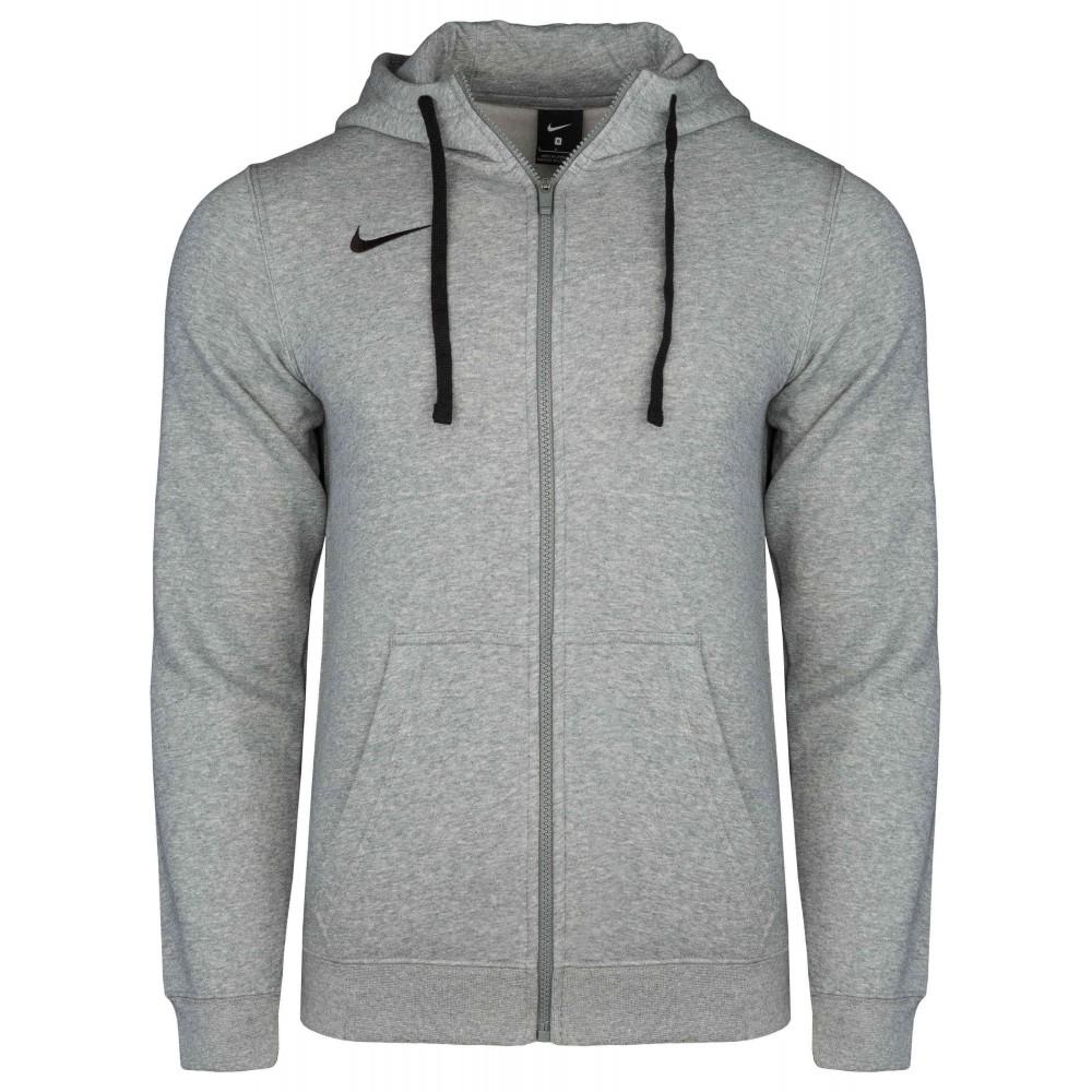Nike Bluza Męska Rozpinana Ocieplana z Kapturem Jasny Melanż