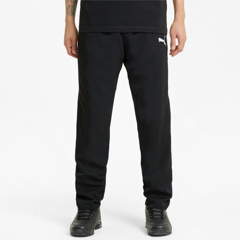 PUMA Spodnie Dresowe Męskie Sportowe Czarne