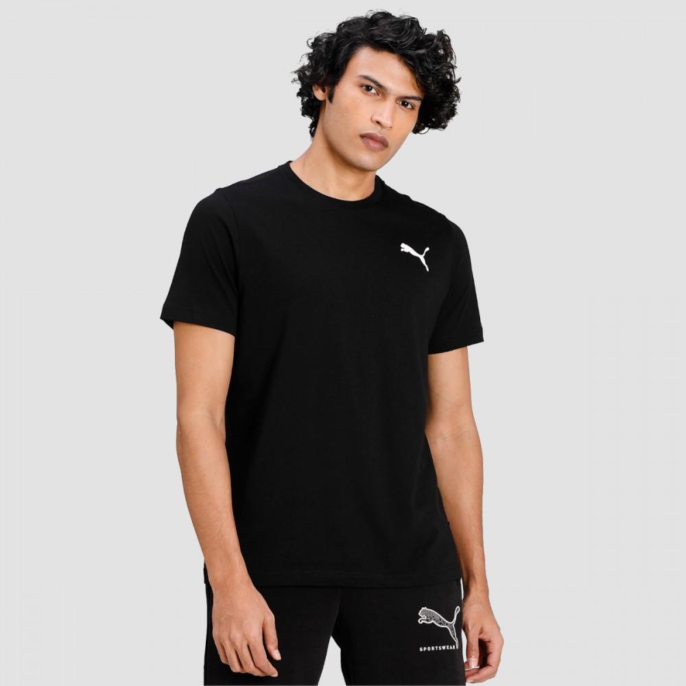 Męska Koszulka Puma Bawełniana T-Shirt Czarna