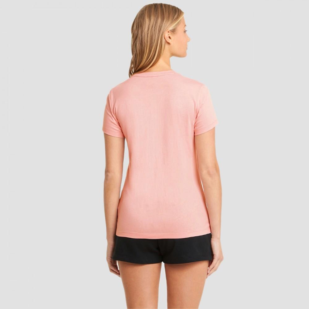 Koszulka Damska Puma Bawełniana T-shirt Pudrowy Róż