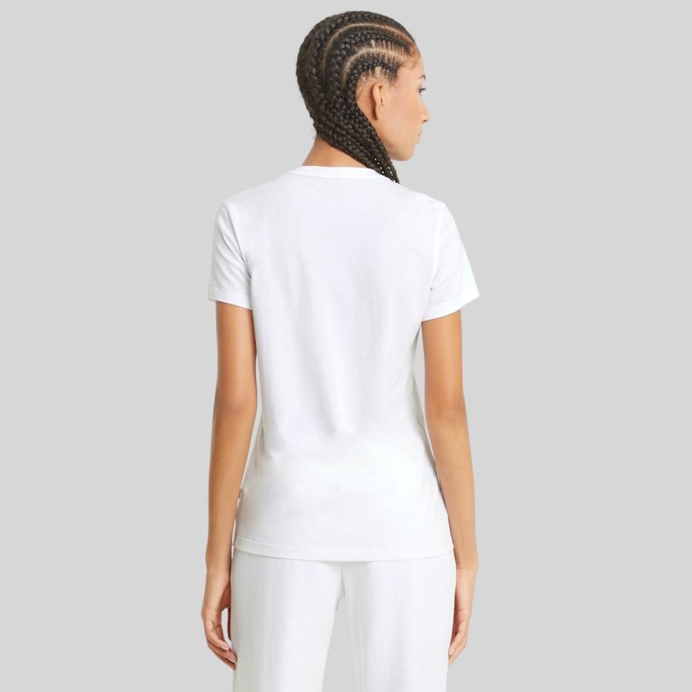 Koszulka Damska Puma Bawełniana T-shirt Biała