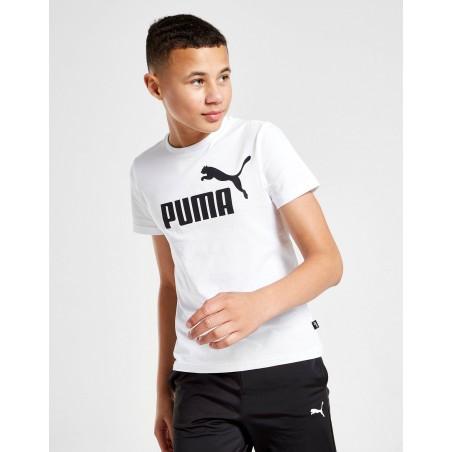 Koszulka Chłopięca Puma Dziecięca T-shirt Biała