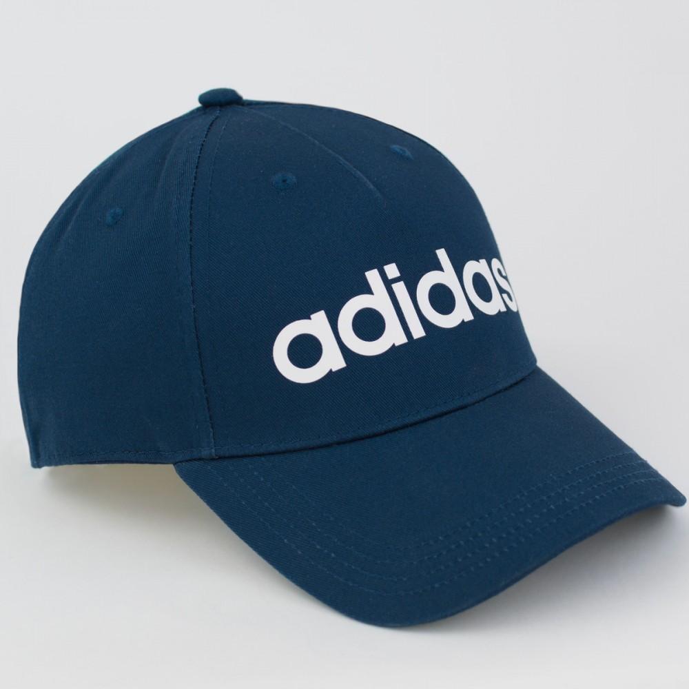 Czapka Z Daszkiem Męska Adidas  Bejsbolówka Granatowa