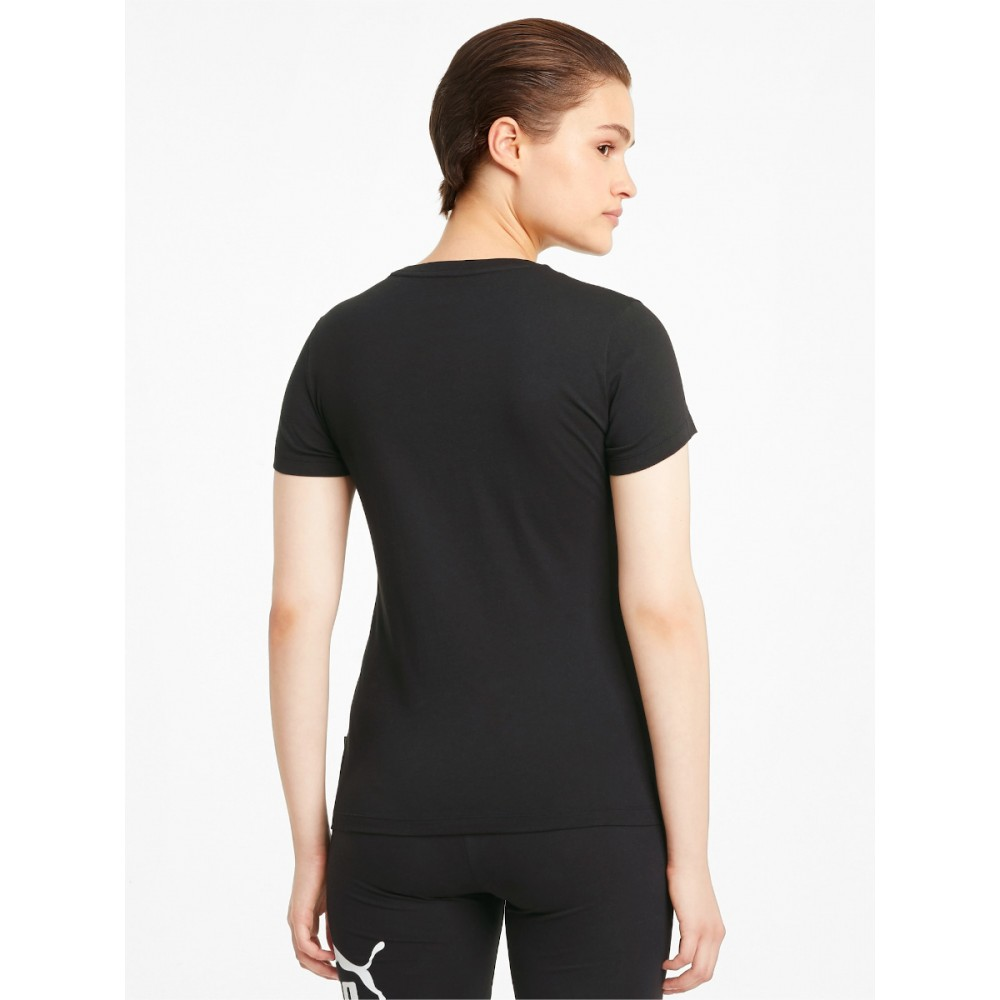 Koszulka Damska Puma Bawełniana T-shirt Czarny