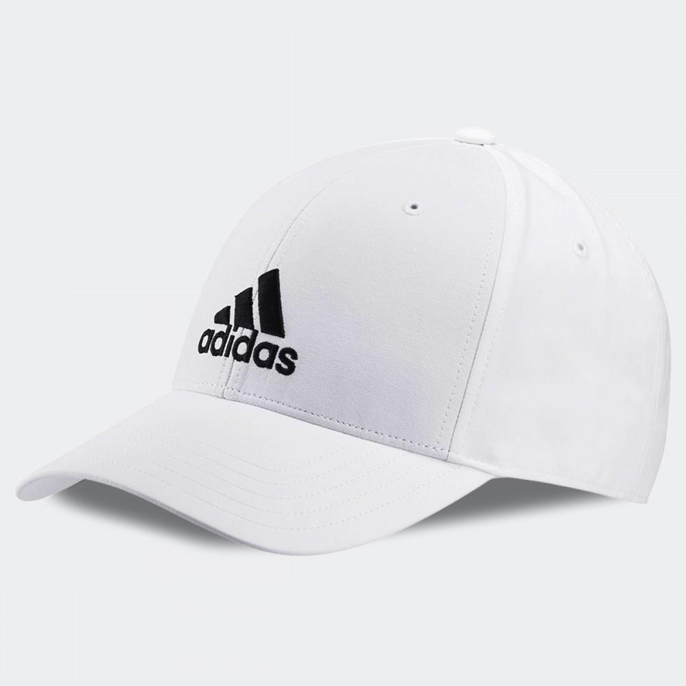 Czapka Z Daszkiem Adidas Bejsbolówka Unisex Biała