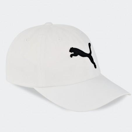 Czapka z Daszkiem Puma Unisex Bejsbolówka Bawełniana Biała