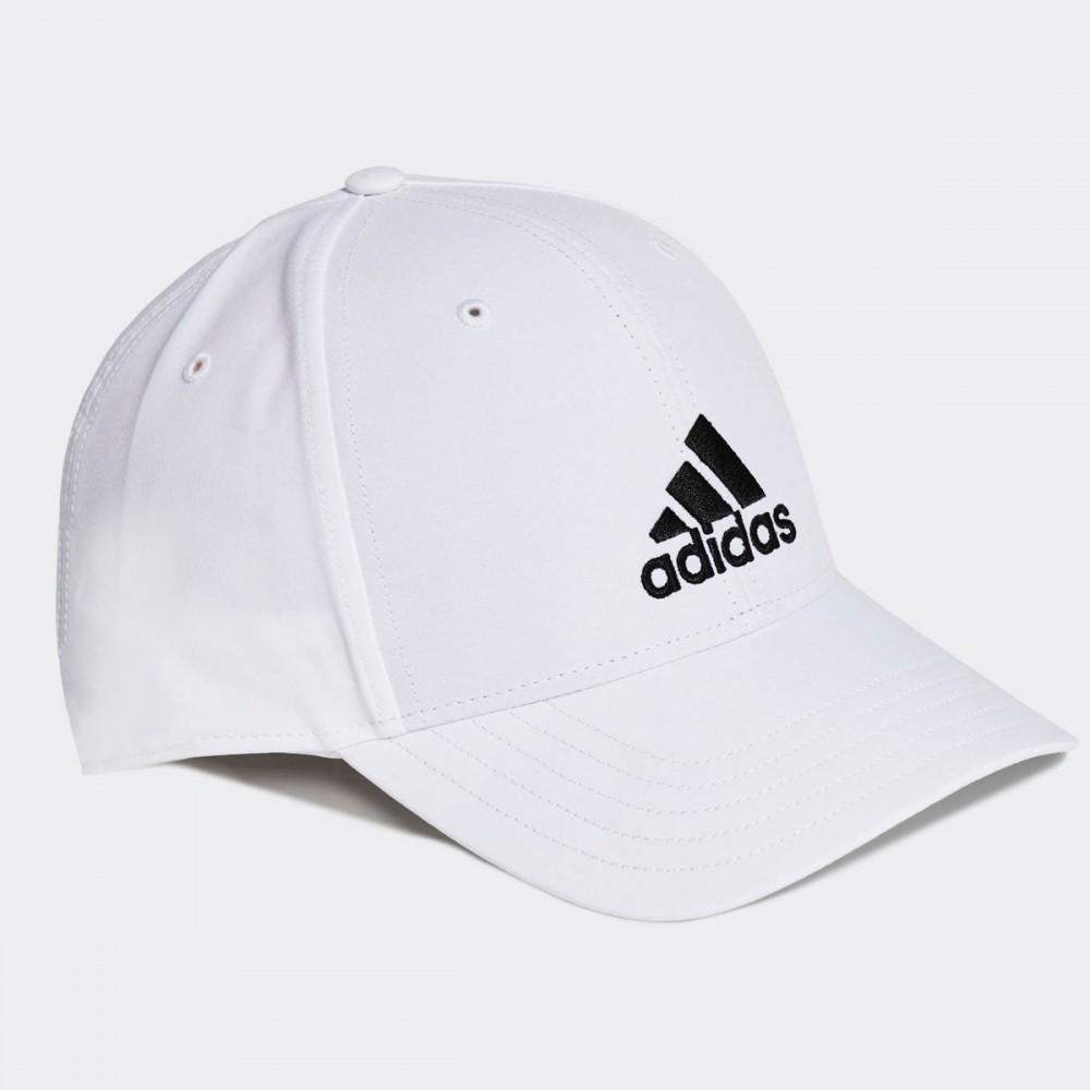 Czapka Z Daszkiem Adidas Junior Bejsbolówka Biała