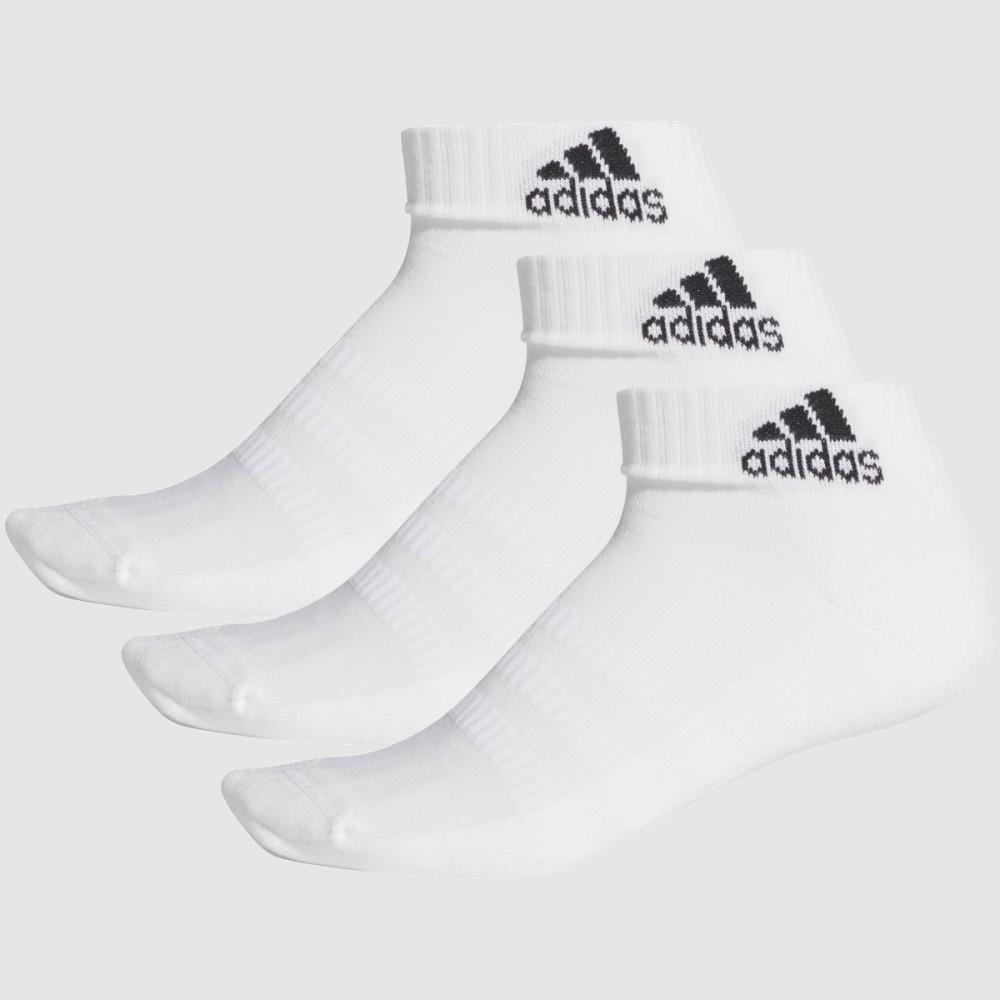 Skarpety Adidas Skarpetki Do Kostki Białe 3-pak