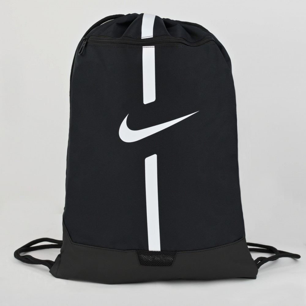 Worek Plecak Nike Z Kieszenią Na Buty Odzież Czarny
