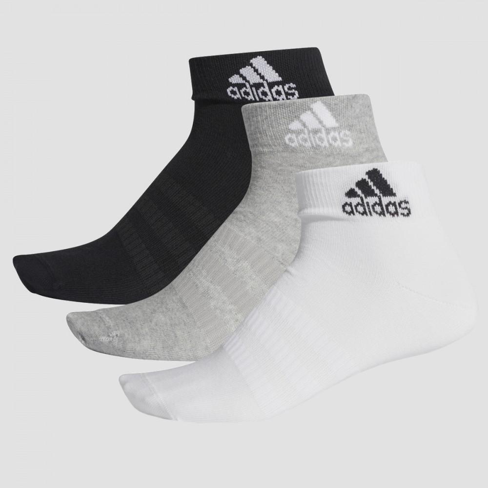 Skarpety Adidas Damskie Męskie Skarpetki Do Kostki Mix 3-pak