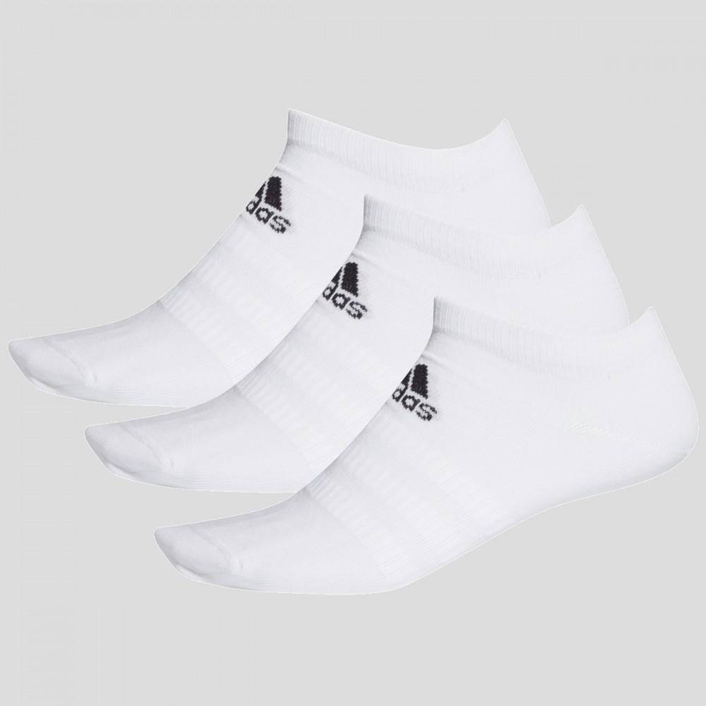 Skarpety Adidas Skarpetki Krótkie Stopki Białe 3-pak