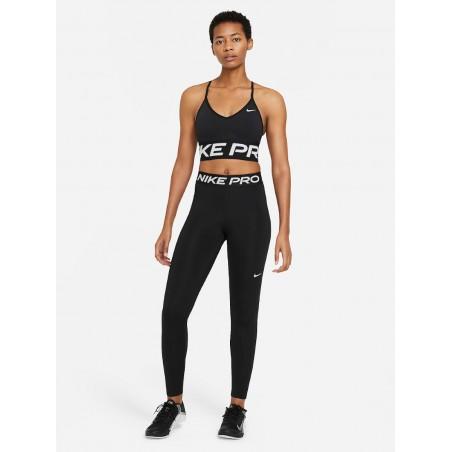 Legginsy Damskie Nike Ze Średnim Stanem Treningowe Czarne