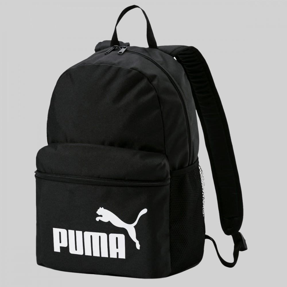 Plecak Puma Szkolny Miejski Damski Męski Czarny