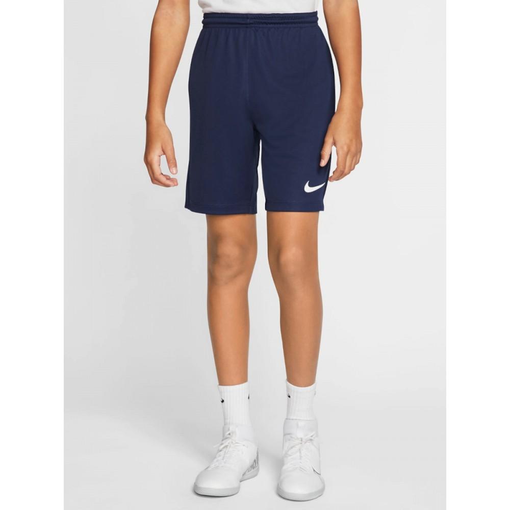 Krótkie Spodenki Nike Sportowe Dziecięce WF Trening Granatowe