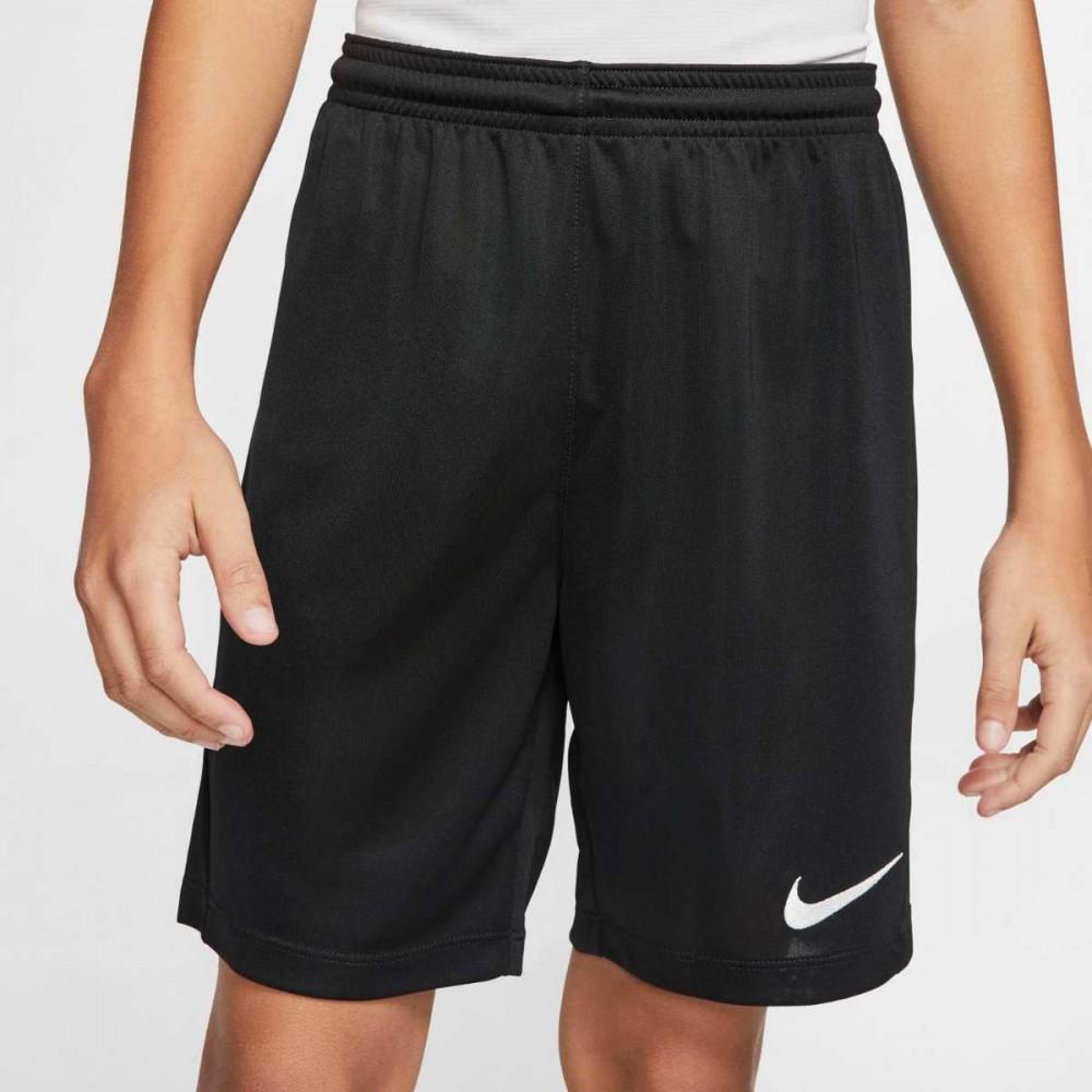 Nike Krótkie Spodenki Sportowe Dziecięce WF Trening Czarne