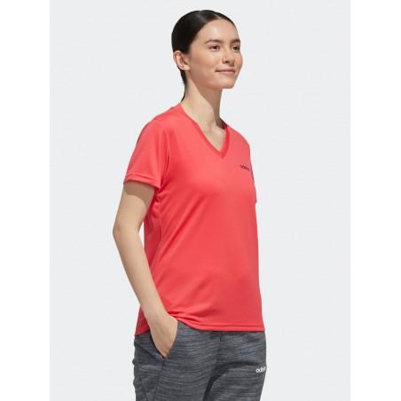 Adidas Koszulka Damska Oddychająca Treningowa Różowa