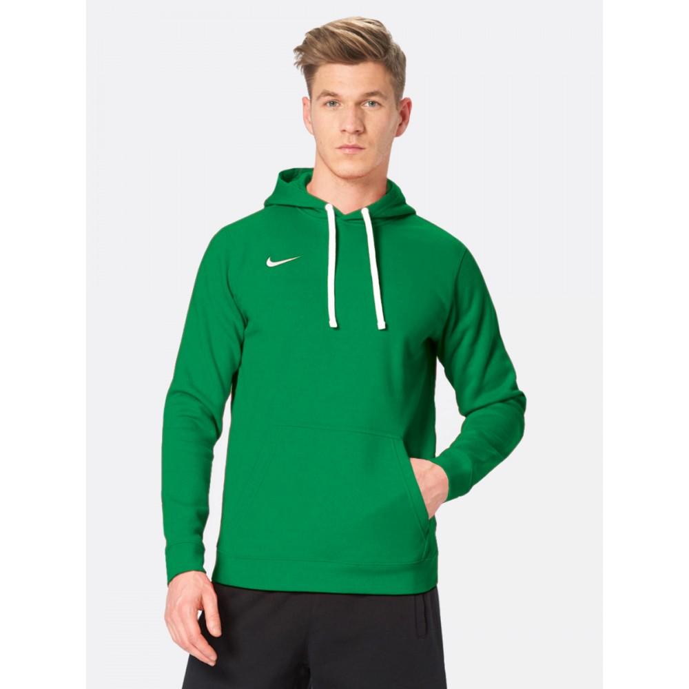 NIKE Wkładana Bluza Męska z Kapturem Bawełniana Kangurka Zielona