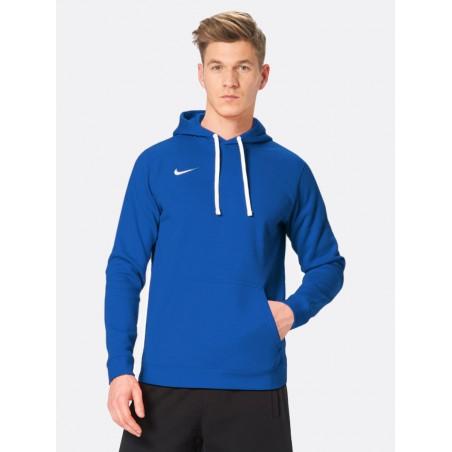 NIKE Bluza Męska Sportowa Kaptur Bawełniana Kangurka Niebieska