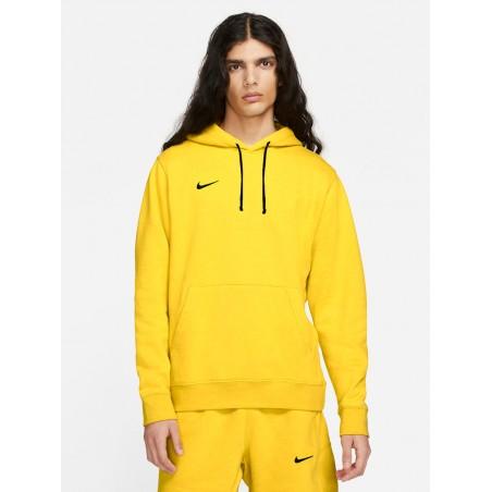 Wkładana Bluza Męska NIKE z kapturem BAWEŁNIANA Żółta