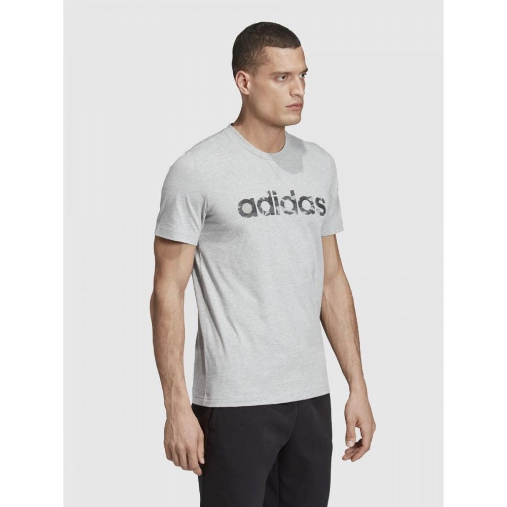 Koszulka męska Adidas CAMO LIN TEE T-shirt Szara