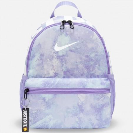 Plecak Nike Brasilia JDI Printed MINI Pastelowy Fiolet