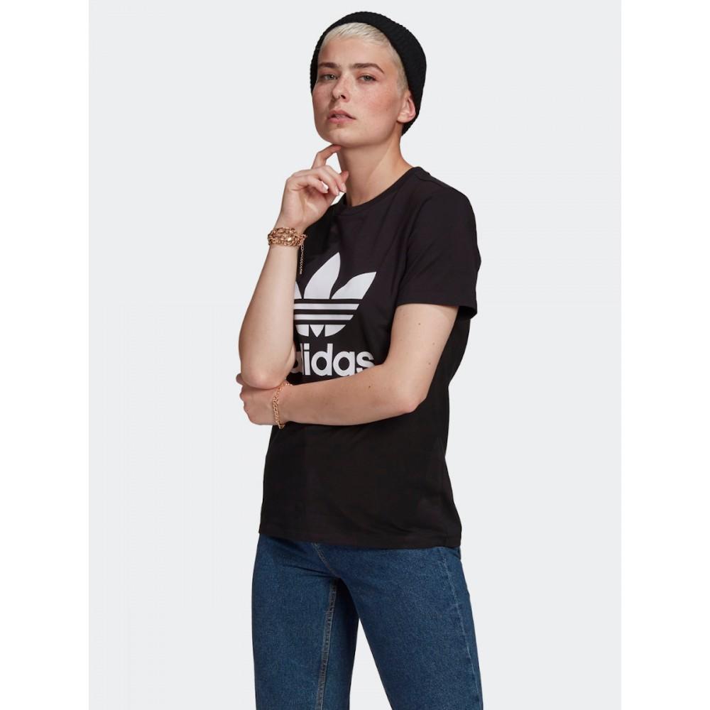 Koszulka Damska Adidas Adicolor Classics TREFOIL TEE Czarna