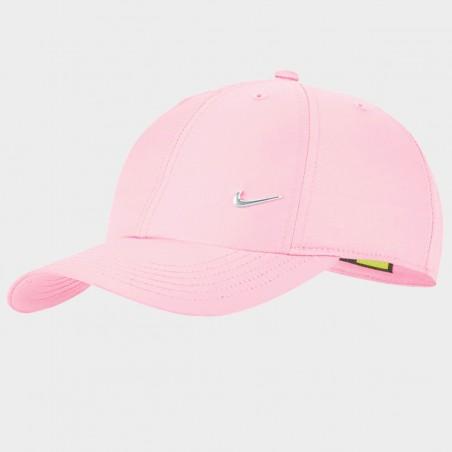 Czapka z Daszkiem Nike Dziecięca Bejsbolówka Pudrowy Róż