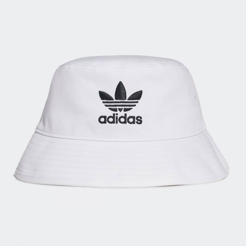 Kapelusz Adidas Trefoil Bucket Hat Unisex Czapka Biała