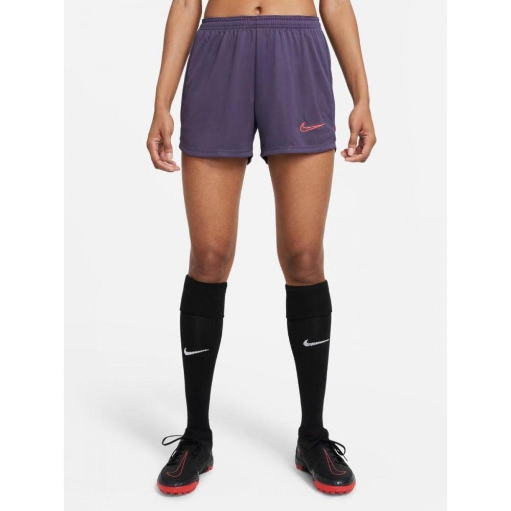 Spodenki Damskie Nike Dri-FIT Academy Szorty Treningowe Fioletowe
