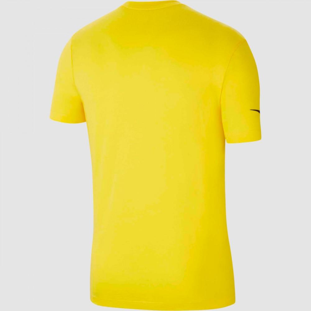 Koszulka Męska Nike T-shirt Bawełniana Żółta