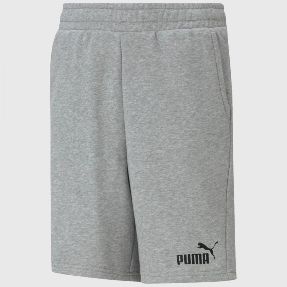 Krótkie Spodenki Puma Ess Chłopięce Bawełniane Szare