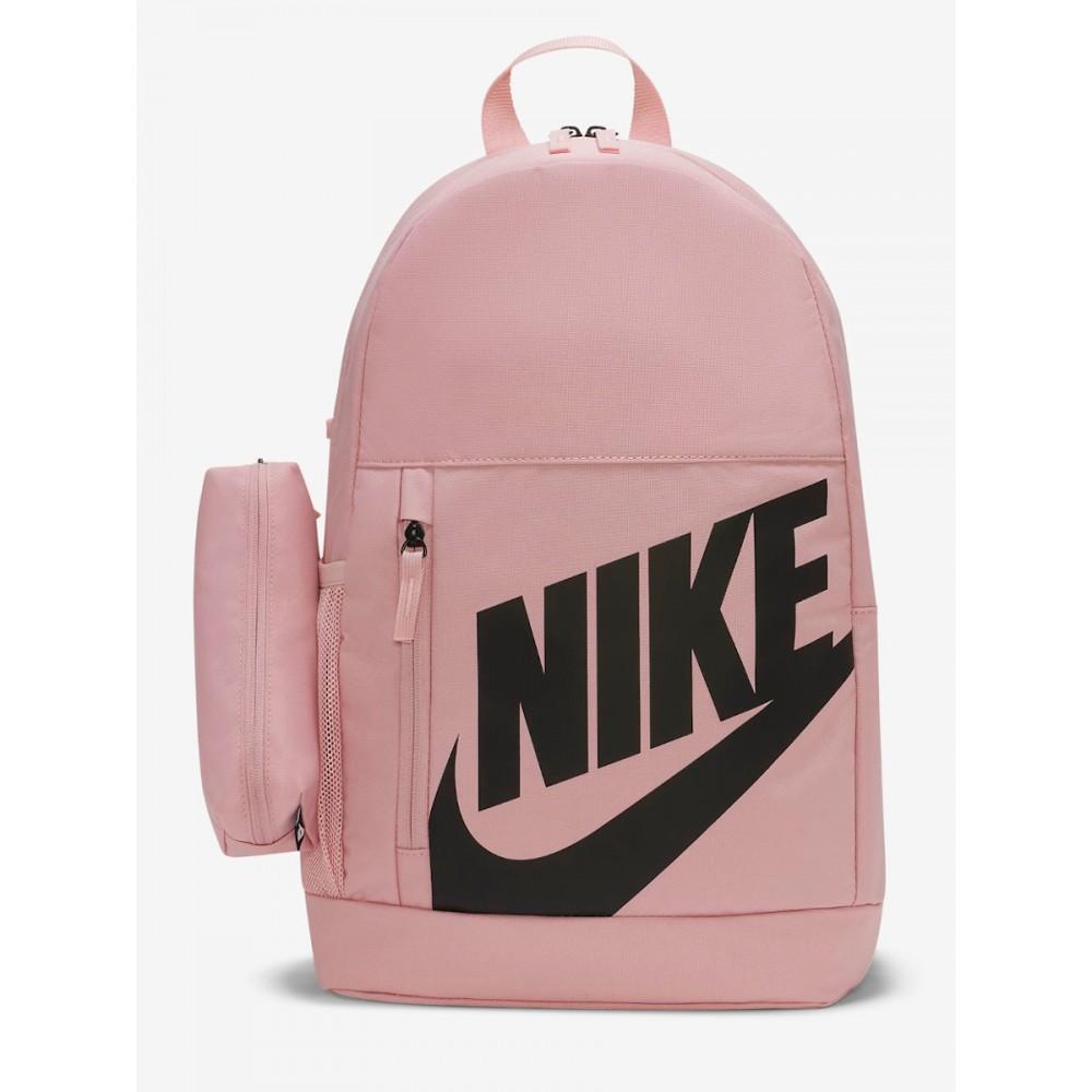 Plecak Nike Elemental Z Piórnikiem Dwukomorowy Pudrowy Róż
