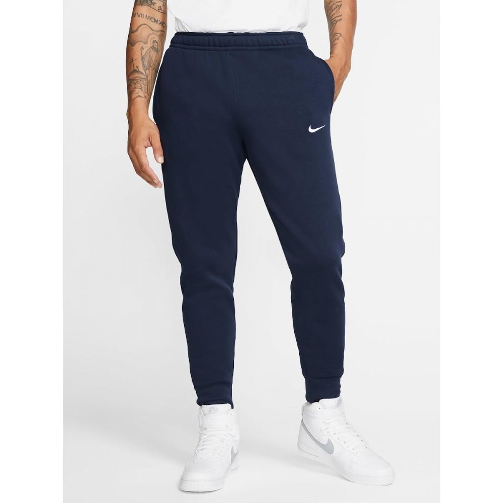 Nike Park Męskie Spodnie Bawełniane Sportowe Granatowe