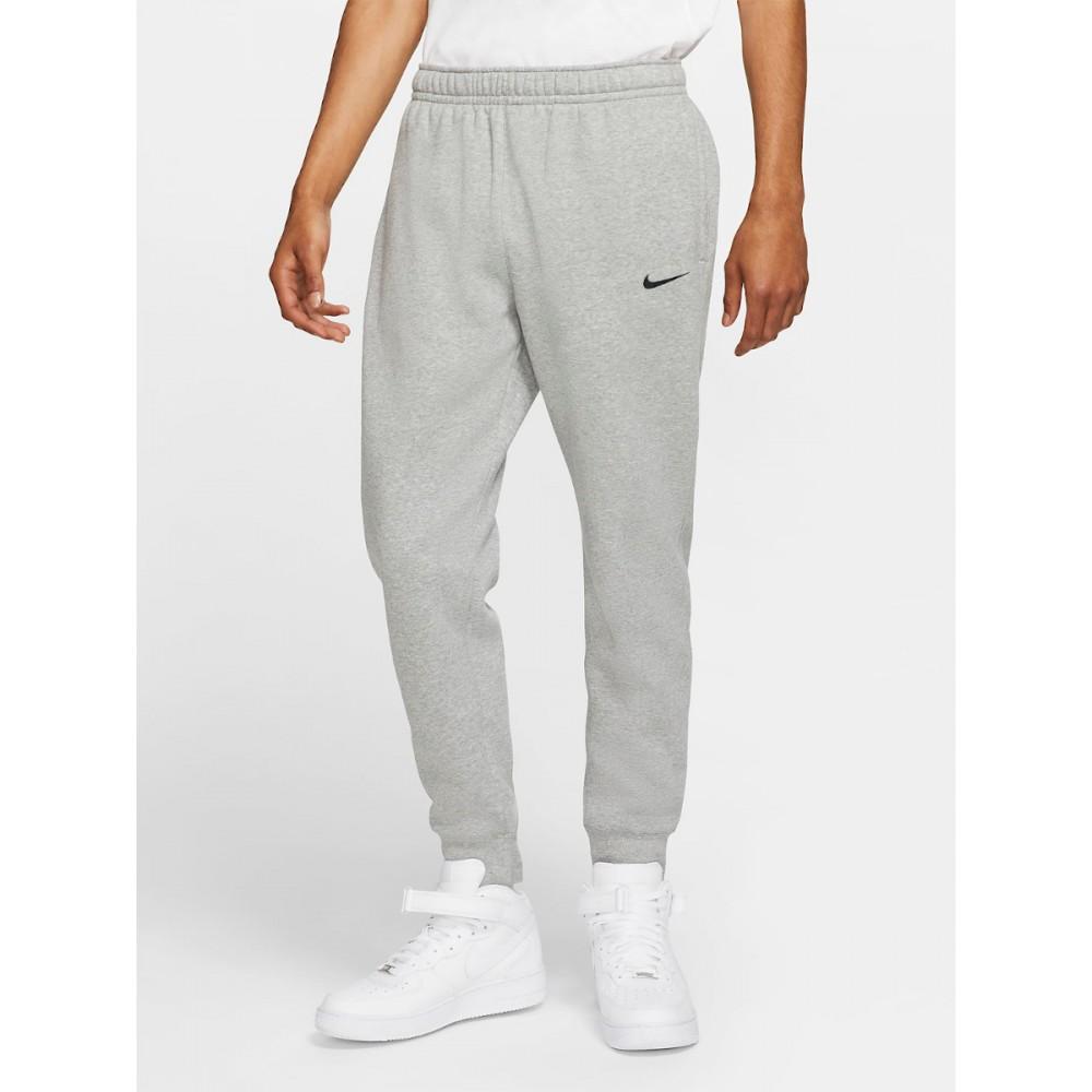Nike Park Męskie Spodnie Bawełniane Sportowe Szary Melanż