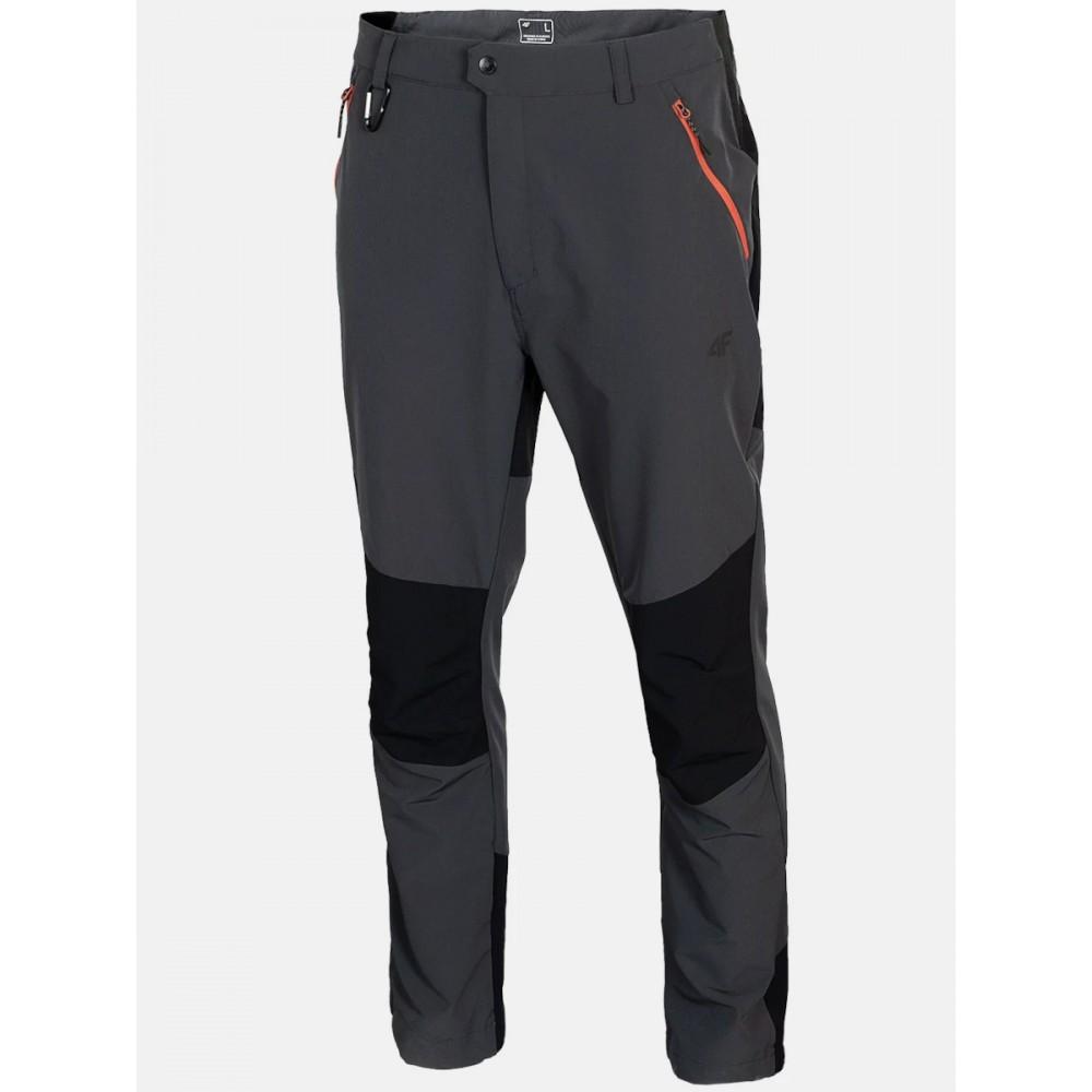 Spodnie 4F Męskie Trekkingowe DRY Szare