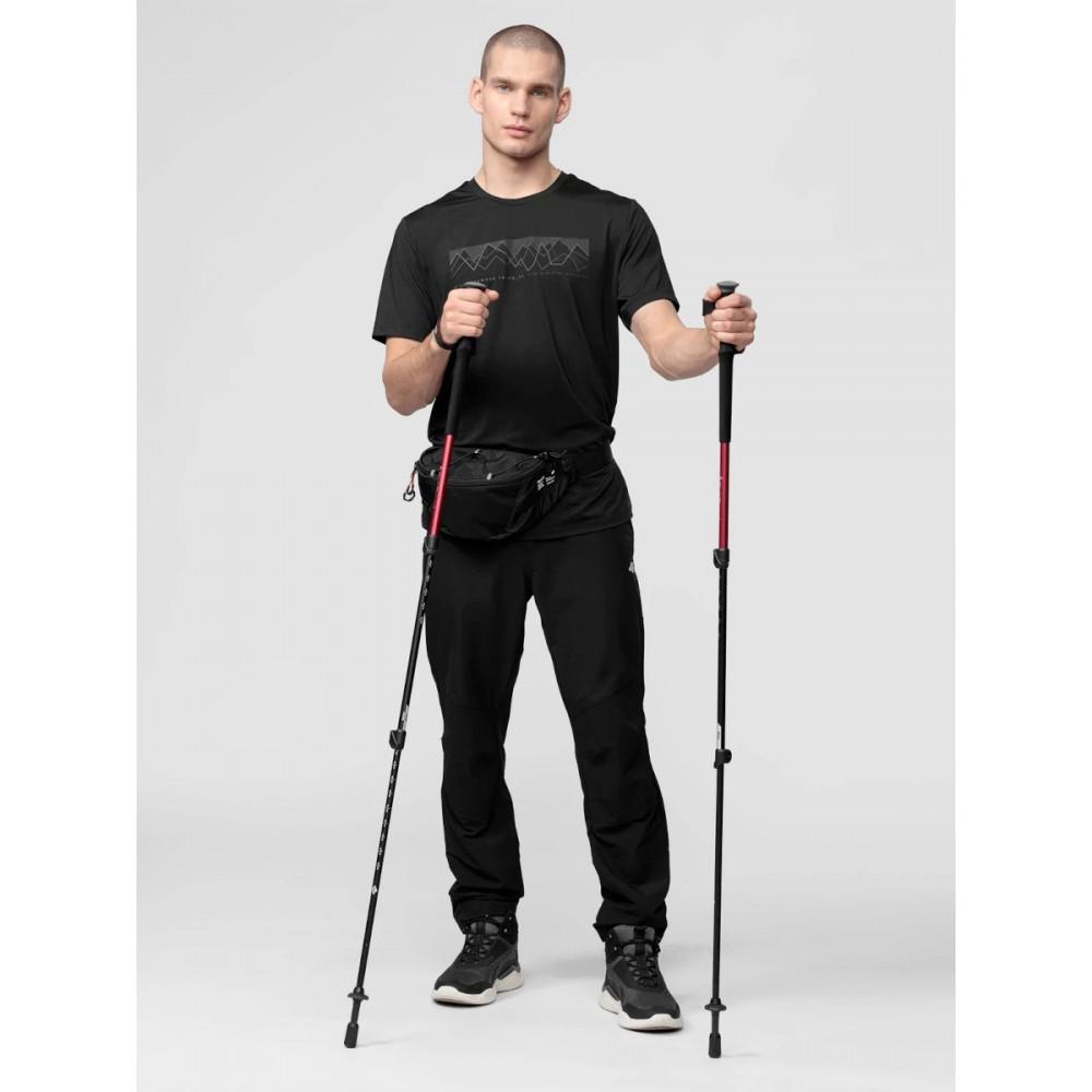 Spodnie 4F Męskie Trekkingowe DRY Czarne