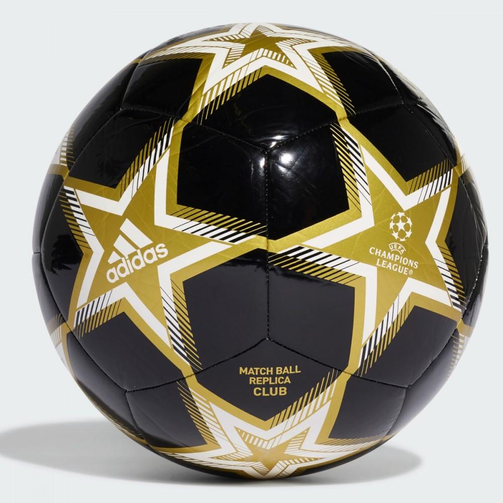 Piłka Nożna Adidas UCL Pyrostorm Ball Czarna